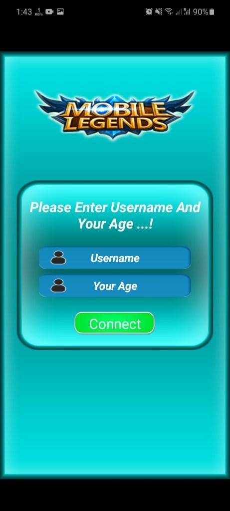 Screenshot of Free Diamond ML App