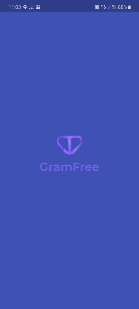 Screenshot of GramFree