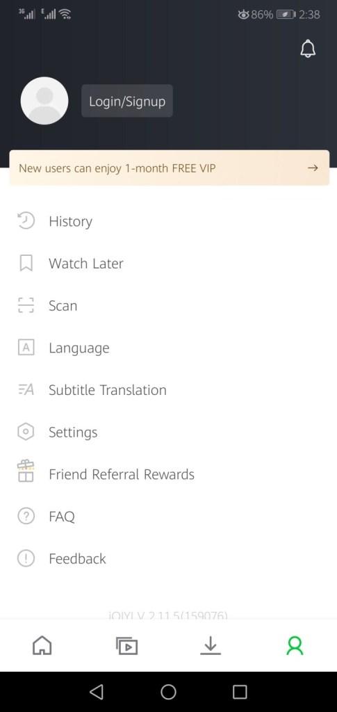 Screenshot of IQIYI Mod App