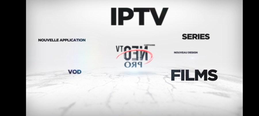 Screenshot of Neo TV Pro App