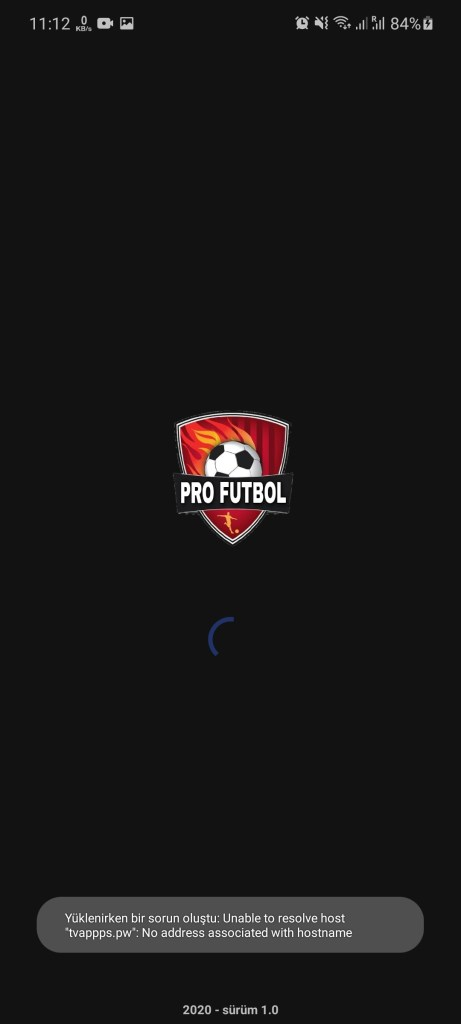 Screenshot of Pro Futbol App