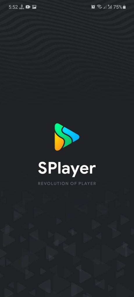 Screenshot of SPlayer