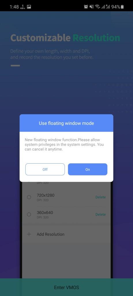 Screenshot of VMOS Pro Mod Apk
