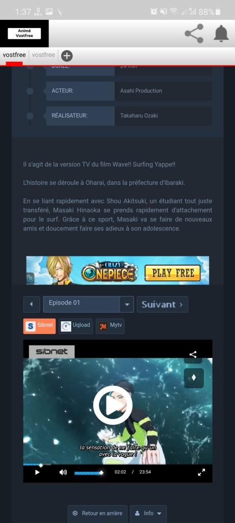Screenshot of VostFree Download