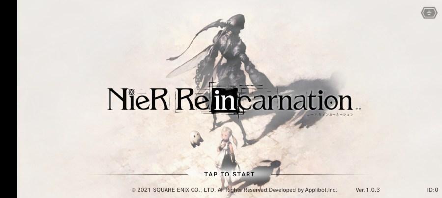 Screenshot of Nier Reincarnation Apk