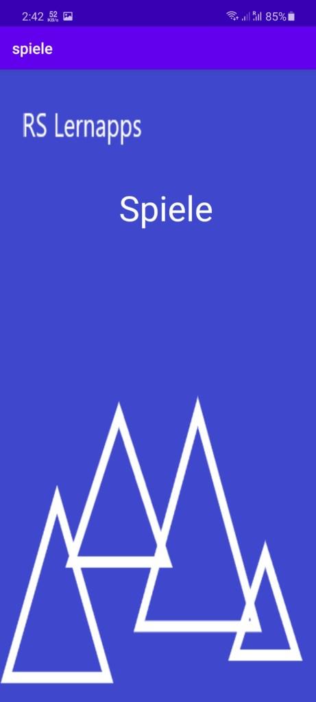 Screenshot of Spiele Apk