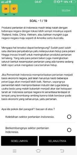 Screenshot of Teknos Aceh App