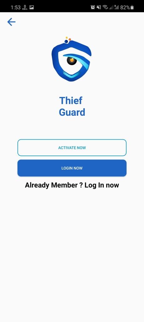 Screenshot of Thief Guard BD