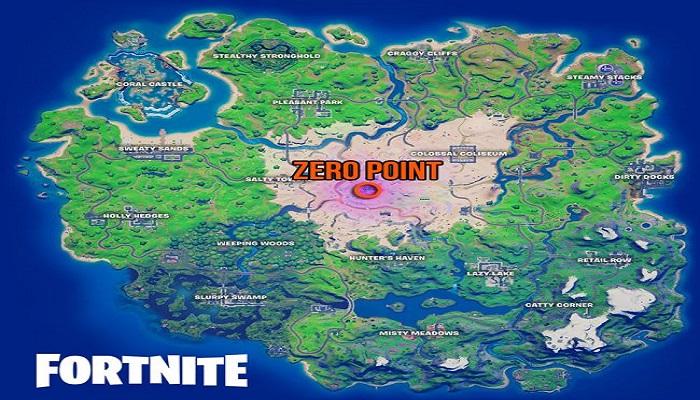 FORTNITE CHAPTER 2, SEASON 6 Zero Point