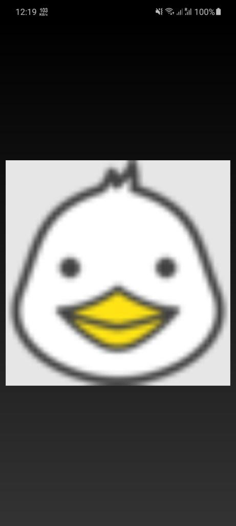Screenshot of MP3 Quack App