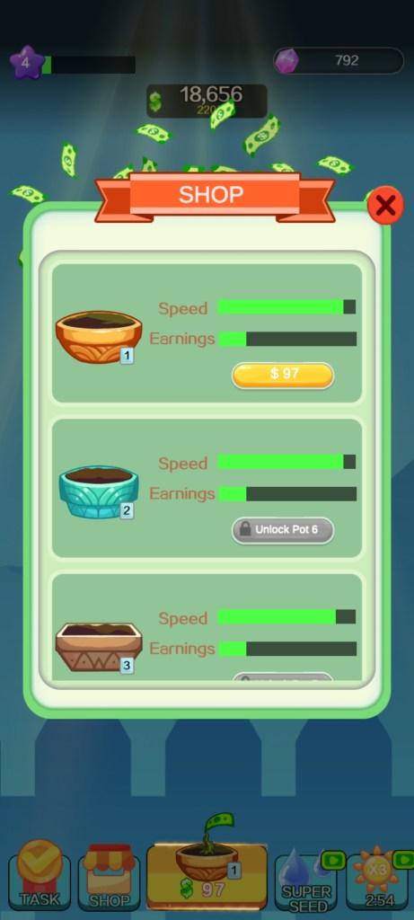 Screenshot of Money Garden Android