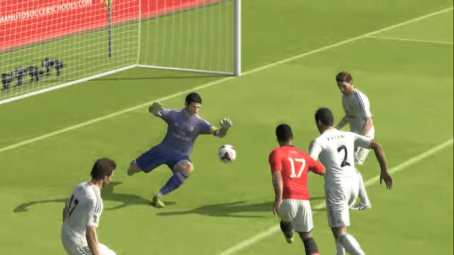 Screenshot of PES 14 Game