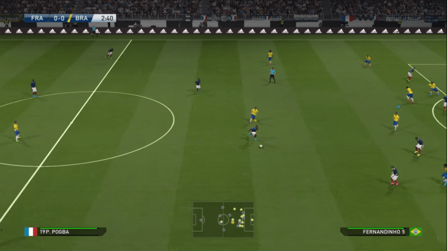 Screenshot of PES 16 Ak Download