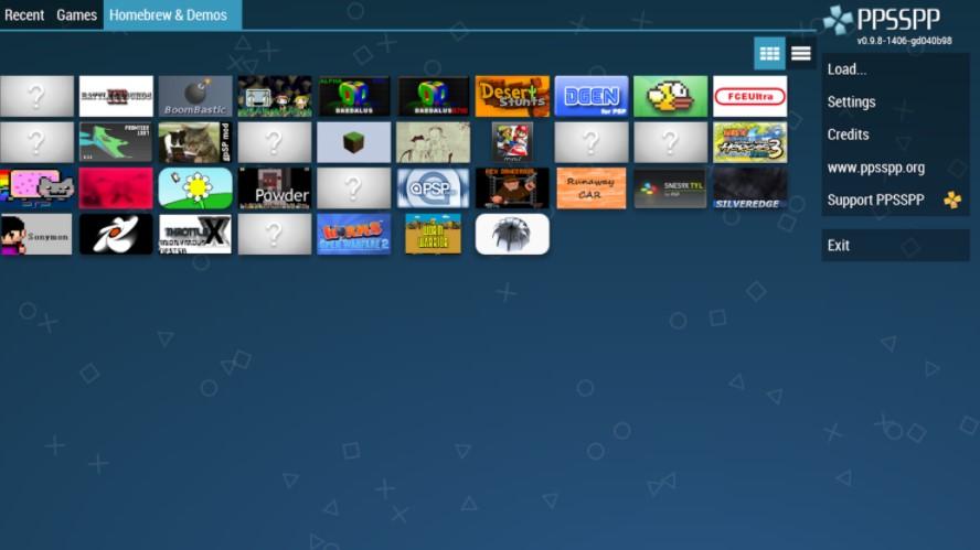Screenshots of PPSSPP Gold Apk