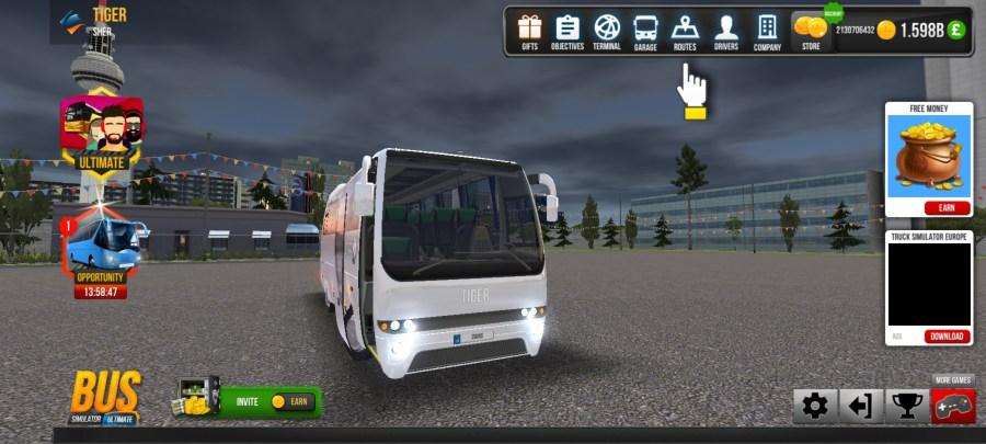 Screenshot of Bus Simulator Ultimate Skin Apk