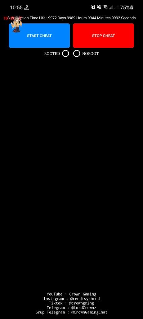 Screenshot of Crown Gaming VIP Apk