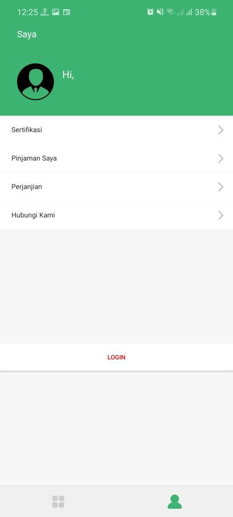 Screenshot of Gajah Pay Android