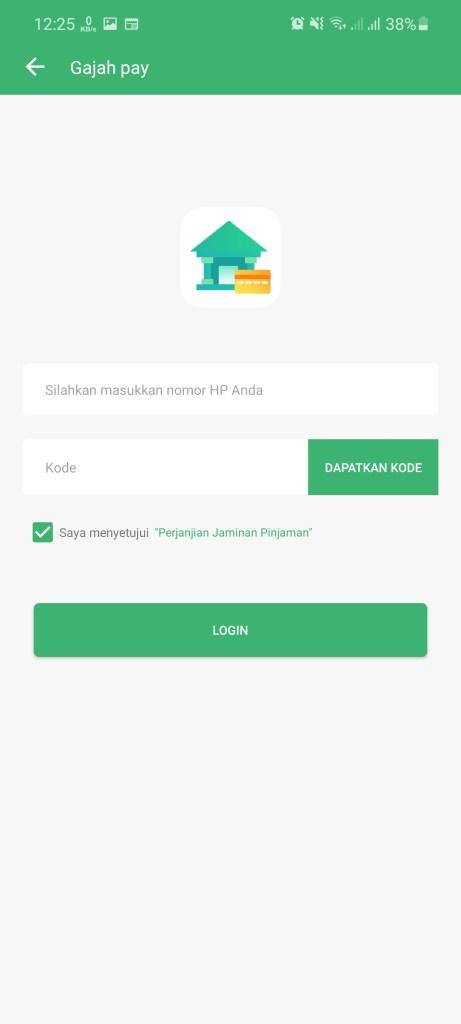 Screenshot of Gajah Pay Download