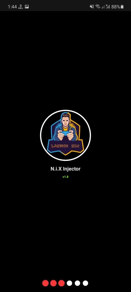 Screenshot of NIX Injector