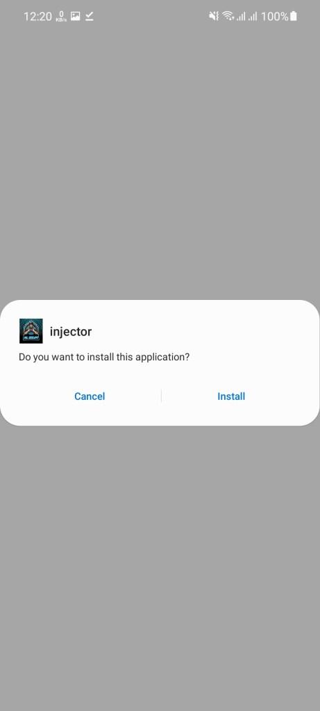 Screenshot of Intro ML Injector