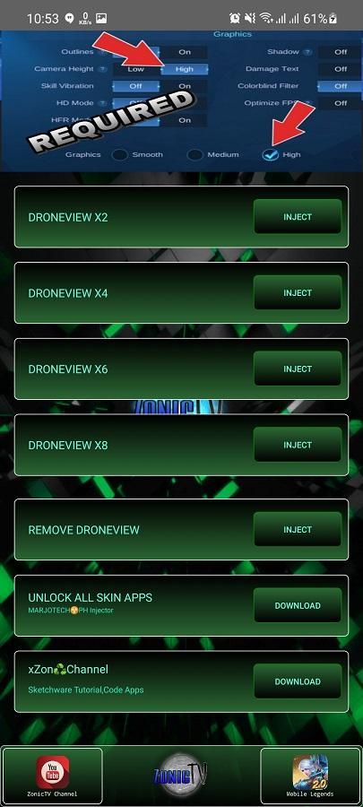 Screenshot of XZON Drone Download
