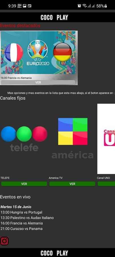 Screenshot of Coco Play Futbol