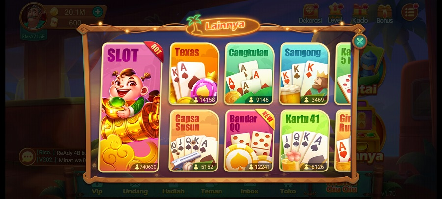 Screenshot of Domino Topbos Mod