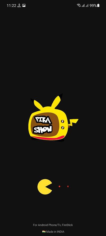 Screenshot of Pikachu App