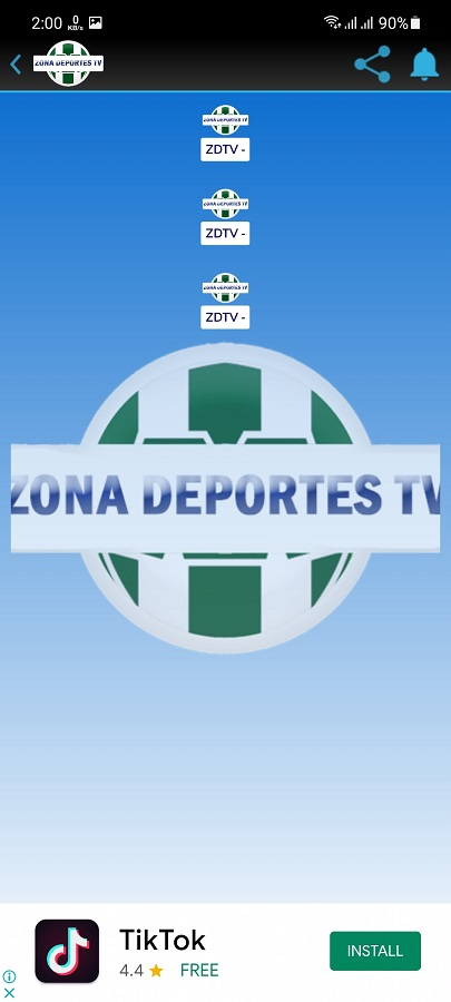 Screenshot of Zona Deportes TV Android