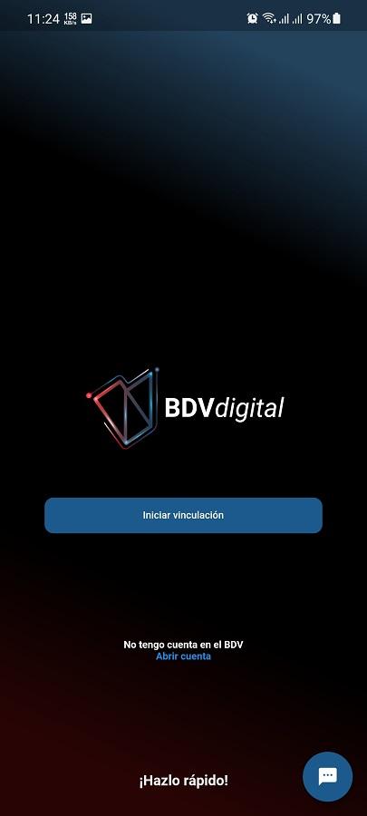 Screenshot of BDV Digital App