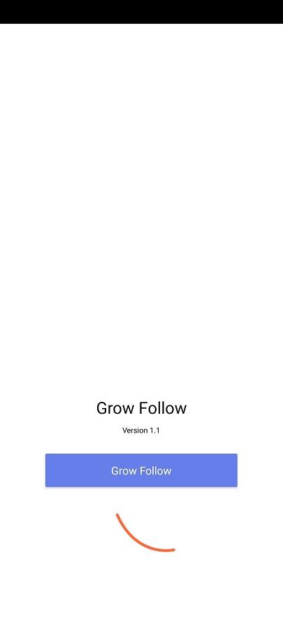 Screenshot of Grow Follow Apk
