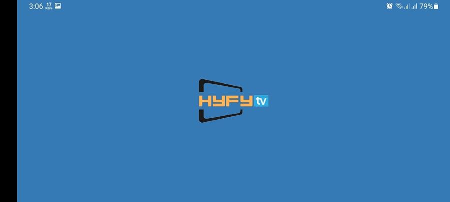 Screenshot of HYFY TV Apk