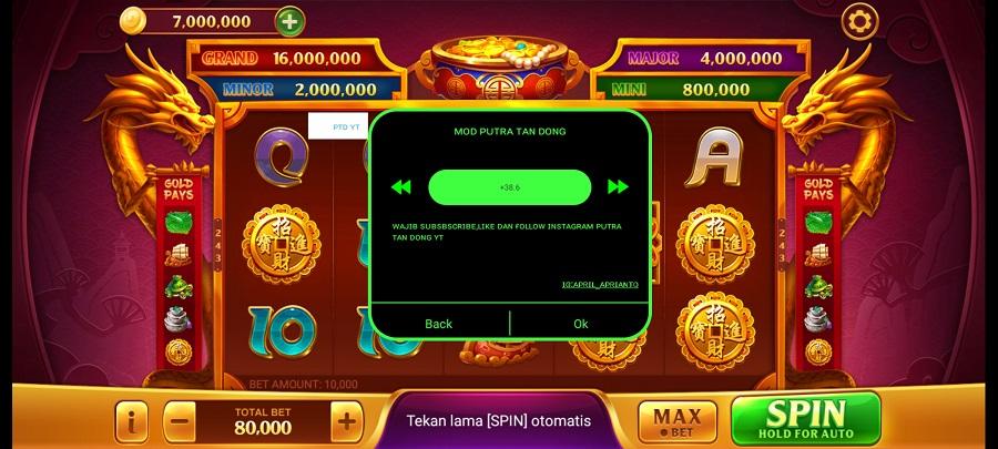 Screenshot of Higgs Domino Mod Apk Speeder Hack