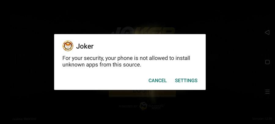 Screenshot of Joker123 Apk