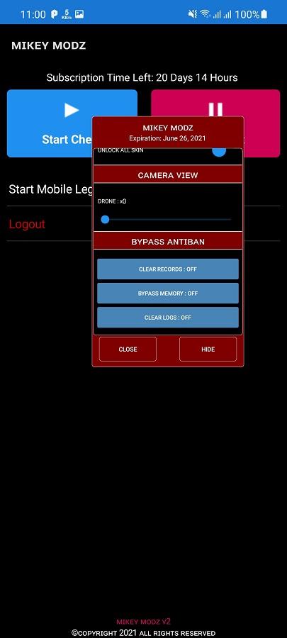 Screenshot of Mikey Modz Apk