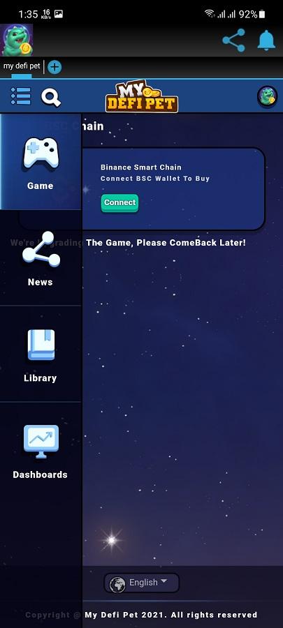 Screenshot of My Defi Pet Download