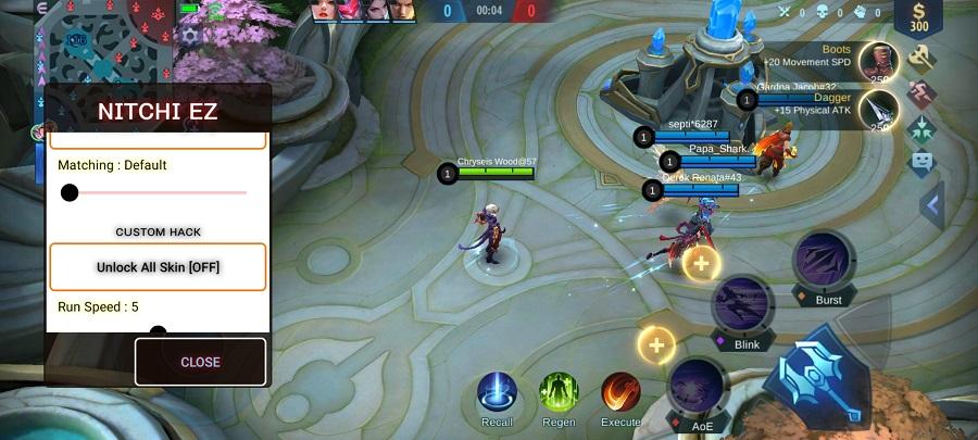 Screenshot of Nitchi Ez ML