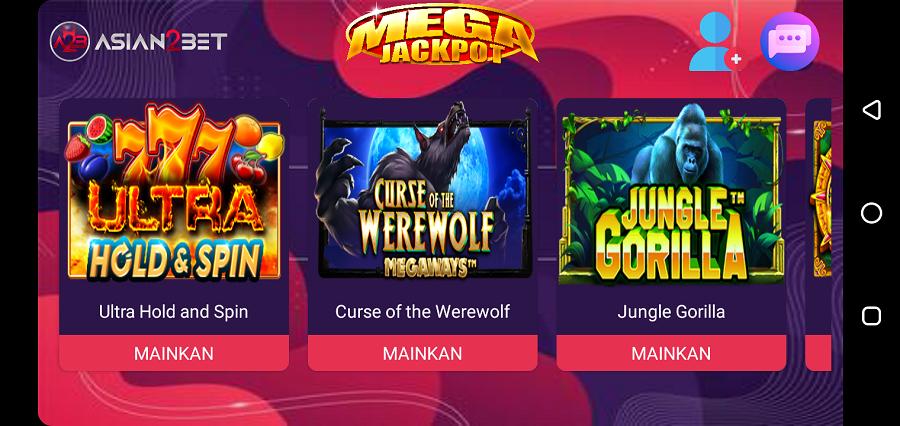 Screenshot of Open Slot App