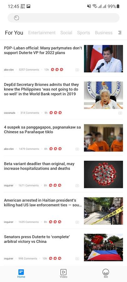 Screenshot of Philippines Today Apk