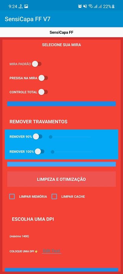 Screenshot of Sensi Capa FF Apk Download