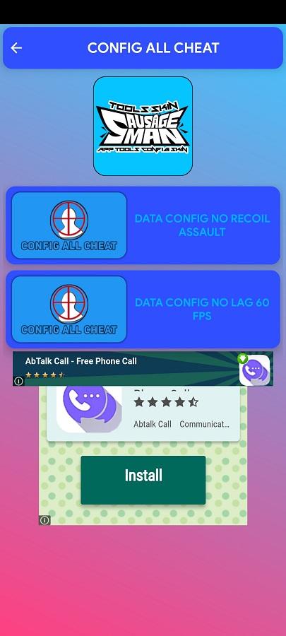 Screenshot of Tools Skin Sausage Apk