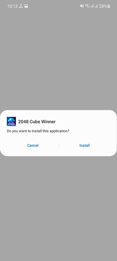 Screenshot of 2048 FF