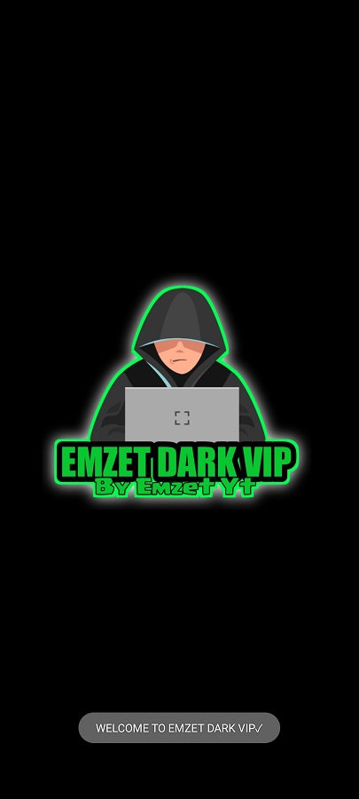 Screenshot of EMZET DARK VIP