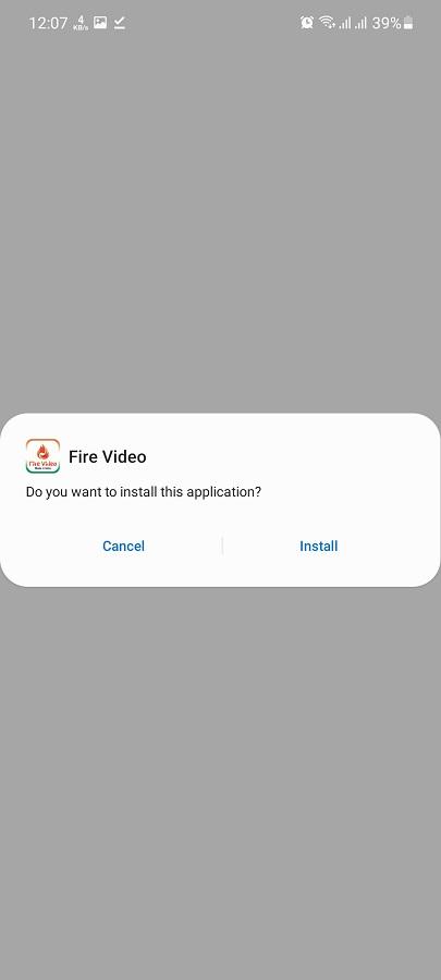 Screenshot of Fire Video Apk