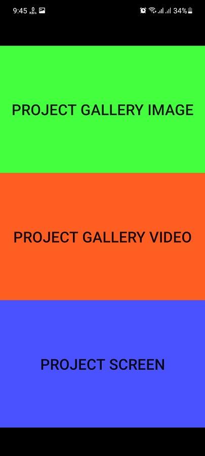 Screenshot of Flashlight Video Projector 2021