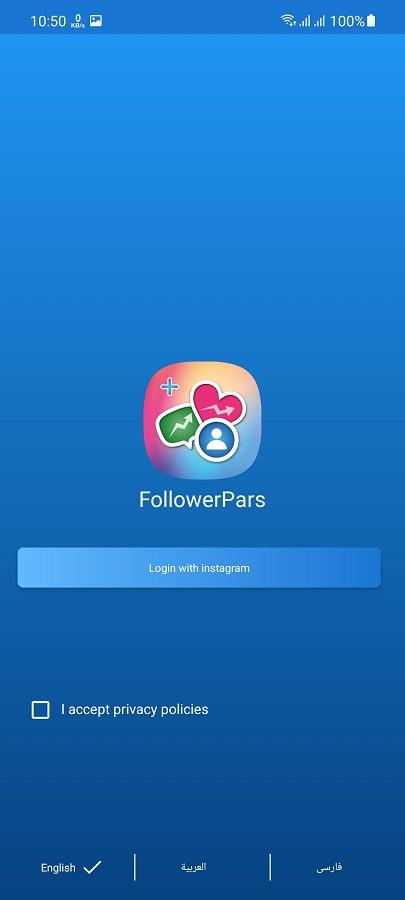 Screenshot of FollowerPars