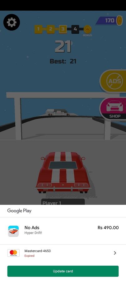 Screenshot of Hyper Drift Mod Apk
