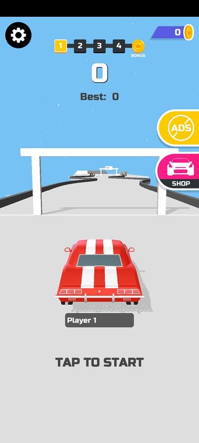 Screenshot of Hyper Drift