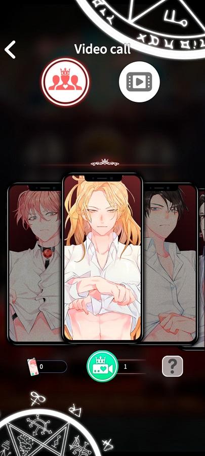 Screenshot of LoveUnholyc Game