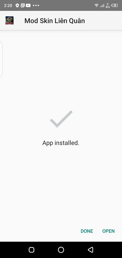 Screenshot of Mod Skin Liên Quân Download